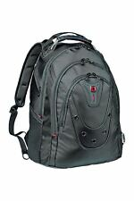 """Wenger SwissGear Ibex Slim Laptop Backpack Black 605081 15"""" 15.6"""" up to 16"""" Inch"""