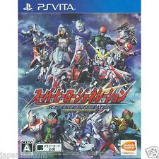 Super Hero Generation PS Vita SONY JAPANESE NEW JAPANZON