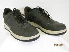 EC Nike Air Force 1 '07 Men's Basketball Shoes 315122-207 Army Green Off White 8