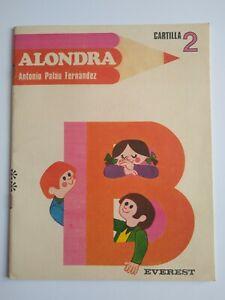 Alondra Cartilla Fonética 2 (Spanish) Antonio Paláu Fernández -Illustrated, 1972
