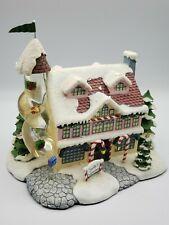 "Hawthorne Village Christmas Town Rudolph ""Santa's Toy Workshop"