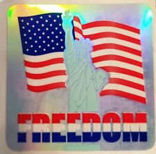 Sandylion AMERICAN FREEDOM FLAG Scrapbooking Stickers F107