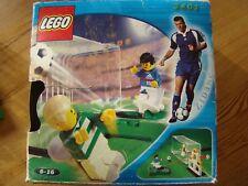 LEGO 3401 - SHOOT N'SCORE SET- ZIDANE avec boite et plan- complet