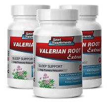 Valerian - Valerian Root Extract 4:1 125mg - Natural Sleep Aid Supplement 3B
