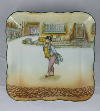More details for royal doulton dicken wares plate mr pickwick d2973