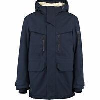 Lacoste Mens Heavyweight Parka Navy Size 50 Medium RRP £450 BNWT