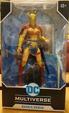 """New listing Wonder Woman with Helmet Of Fate - Dc Multiverse 7"""" Action Figure McFarlane Toys"""