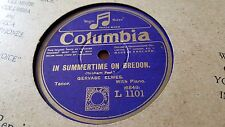 GERVASE ELWES IN SUMMERTIME IN BREDON & FILL A GLASS WITH GOLDEN COLUMBIA L1101