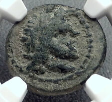 OLYMPIA in ELIS OLYMPIC GAMES Home 2CnBC Authentic Ancient Greek Coin NGC i60250