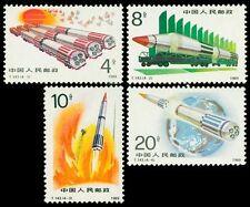 PRC China 1989 / T143 / Mi.#2269-72** Raketen / Complete Set / MNH