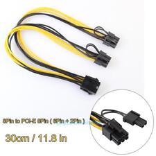 8 Pin IDE auf Dual 2 x 8 Pin(6+2pin) Strom Adapter Kabel Grafikkarte Stromkabel