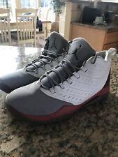 Jordan Velocity - Men's White/Black/Gym Red/Cement Grey Sz 10.5
