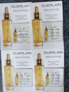 lot 4 GUERLAN abeille royale youth watery oil  sample packets