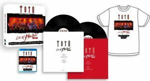TOTO - LIVE AT MONTREUX 1991 JAPAN BLU-RAY  2 Vinyl LP CD T-SHIRT NEU