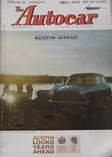 Autocar magazine 19/2/1960 featuring Rambler Super Station Wagon road test, NSU
