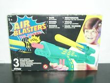 1993 VINTAGE TYCO AIR BLASTERS THE ROCKER SOFT GUN PLASTIC TOY MIB #3201