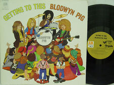 "BLODWYN PIG - Getting to This LP (1st US Pressing on ""brown"" A&M, 2nd Album)"