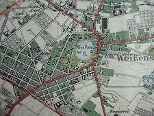 Landkarte Berlin Blatt 6 Berlin ca 1922 Landesaufnahme Charlottenburg Mitte