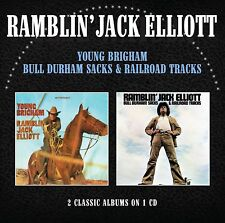 Ramblin' Jack Elliot - Young Brigham / Bull Durham Sacks & Railroad... (NEW CD)