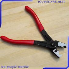 Metal Clic & Clicr-R Type Hose Clip Plier Collar Clamp CV Boot Swivel Tool DIY