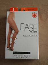 EASE by Therafirm® Women's Opaque Pantyhose 15-20 mmHg in Black