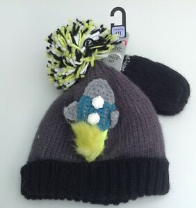 Next boys hat and mittens set age 3-9 months