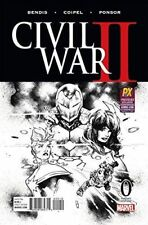 CIVIL WAR 2 #0 SDCC 2016 EXCLUSIVE VARIANT BENDIS