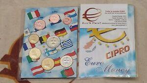 2015 CIPRO 8 monete 3,88 EURO chypre chyprus cyprus zypern fdc UNC Кипр 塞浦路斯