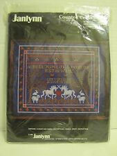 Janlynn Unicorn Tapestry Counted Cross Stitch Kit 50-542 Sampler