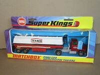 603P 1973'S Matchbox K16 Superkings England Ford LTS Citerne Texaco + Boite