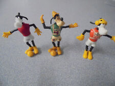 Rare Vintage Disney Kinder Surprise Steck Plastic Figures 1980's Olympia Goofy