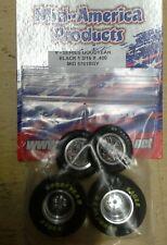 Mid America V Series Good Years In Black Drag Tire Set. 1 3/16 X .400
