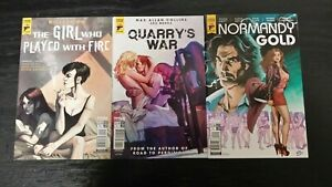 2017 TITAN COMIC LOT OF (3) ASSORTED HARD CASE CRIME #2-4 NM UNREAD CRIME