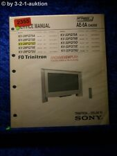 Sony Service Manual KV 28FQ75A /B /D /E /U 32FQ75A (#2355)