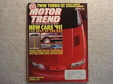 Motor Trend 1990 October Chrysler Vans Thunderbird Oldsmobile 88 Pontiac GTP