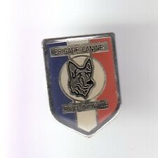 RARE PINS PIN'S .. POLICE NATIONALE BRIGADE CANINE CHIEN DOG THIONVILLE 57 ~C6