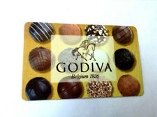 GODIVA CHOCLATE MINT GIFT CARD BELGIUM 1926 RECHARGEABLE !