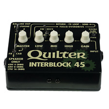 """"""" NEW """" QUILTER LABS INTERBLOCK 45 PEDAL SIZED GUITAR AMP - DESIGNED IN THE USA"""