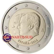 2 Euro Commémorative Espagne 2014 - Changement du Trône