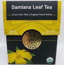 Buddha Teas Certified Organic Damiana Leaf Tea 18 Tea Bags