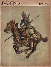 1917 Jugend September 23 Original German Art - Wellmann; Bauriedl, Munzer, Wilke