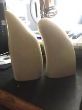 Two blank Sperm Whale replica teeth ready to scrimshaw Already Polished