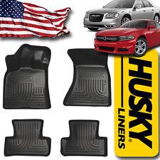 Husky Floor Mats fit 2011-2017 Chrysler 300 & Dodge Charger AWD Black 98081