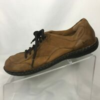 Born BOC Leather Oxford Womens Size 8 Lace Up Light Brown Shoes