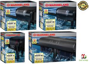 MarineLand Penguin Aquarium Fish Tank Power Filter- 75/100/150/200/400 GPH Sizes