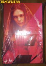 Ready! Hot Toys Avengers Age of Ultron Scarlet Witch Elizabeth Olsen Wanda AOU