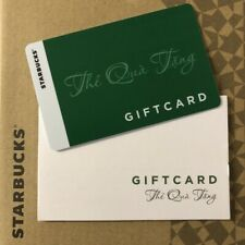Starbucks Vietnam The Qua Tang Gift Card with Sleeve