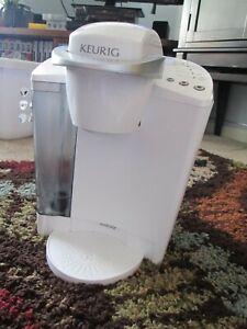 RARE WHITE KEURIG B40 COFFEE Brewer MAKER K-CUPS Pods SINGLE Serve