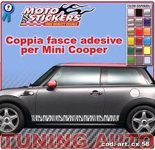 Mini Cooper - Fasce adesive a 1 colore - cod. art. cx58