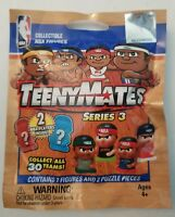 NBA Series 3 Teenymates 1 New Unopened Foil Package  New